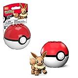 Mega Construx- Pokemon Mini Eevee Assemblabile con Pokeball Giocattolo per Bambini 6+ Anni, GKY74