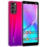 Telefono cellulare 3G da 5,0 pollici Android Smartphone senza fili, 1 GB RAM + 4 GB ROM Quad Core, 2 MP fotocamera, Dual Card Dual Standby, 2500 mAh batteria telefono cellulare (Reno4 rosso)
