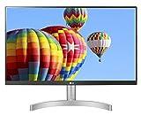 LG 24ML600S Monitor 24' FULL HD LED IPS, 1920x1080, 1ms MBR, AMD FreeSync 75Hz, Audio Stereo 10W, HDMI (HDCP 1.4), VGA, Uscita Audio, Flicker Safe, Bianco