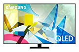 Samsung TV QE55Q80TATXZT Serie Q80T QLED Smart TV 55', con Alexa integrata, Ultra HD 4K, Wi-Fi, Silver, 2020