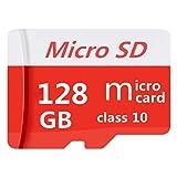 Scheda di memoria Micro SD da 128 GB con adattatore gratuito, scheda SDXC classe 10 ad alta velocità