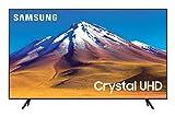 "Samsung TV TU7090 Smart TV 55"", Crystal UHD 4K, Wi-Fi, Black, 2020"