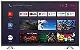 Sharp Aquos 4T-C50BL6EF2AB - 50' Smart TV 4K Ultra HD Android 9.0, Wi-Fi, DVB-T2/S2, 3840 x 2160 Pixels, Nero, suono Harman Kardon, 4xHDMI 3xUSB, 2020