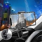 Tsumbay Supporto per Auto Mobile Supporto per Telefono Regolabile Rotazione di 360 Gradi Tutti i Tipi di Smartphone da 3,0'a 6,5' Compatibile per iPhone, Wiko, Huawei, Xiaomi