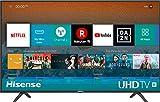 Hisense H43BE7000 TV LED Ultra HD 4K, HDR, Dolby DTS, Slim Design, Smart TV VIDAA U3.0 AI, Triple Tuner, 43'