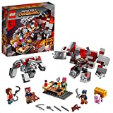 LEGO Minecraft LabattagliadellaPietrarossa, Set da Battaglia con Golem e Personaggi di Mostri, Giocattoli per Bambini di Età Superiore a 8 Anni, 21163