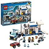 LEGO CityPolice CentrodiComandoMobile, Set di Costruzioni,Camion e Moto,Giochi per Bambini Ispirati alla Polizia, 60139
