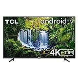 TCL TV 43P616 43 Pollici, 4K HDR, Ultra HD, Smart TV con Sistema Android 9.0, Design Senza Bordi, Micro Dimming PRO, Smart HDR, HDR 10, Dolby Audio, Compatibile con Google Assistant & Alexa
