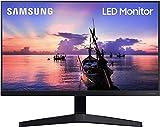 """Samsung Monitor F27T35 da 27"""" (68.6 cm), Full HD, 75Hz, Freesync, Eye Saver Mode, HDMI, Dark Blue Grey, Versione 2020"""