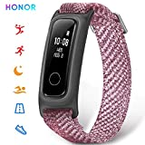 HONOR Band 5 Basketball Version Smart Watch, Monitoraggio Pallacanestro, Monitoraggio Postura in Esecuzione, 0.5' PMOLED Display (Rosa)