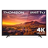Thomson 55UG6300 TV 55 pollici, 4K HDR, Ultra HD, Smart TV 3.0, Slim design (Micro dimming, Smart HDR, Dolby Audio, T-cast)