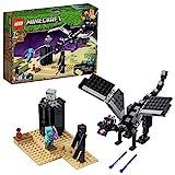 LEGO Minecraft LaBattagliadell'End, Giocattolo da Collezione, 21151