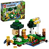LEGOMinecraftLaFattoriadelleApi,SetdaCostruzioneconApicoltoreePecora,GiocattoliperBambinidi8Anni,21165