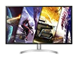 LG 32UL500 Monitor 32' UltraHD 4K LED VA HDR, 3840x2160, 4ms, 1 Miliardo di Colori, AMD FreeSync 60Hz, Audio Stereo 10W, HDMI 2.0 (HDCP 2.2), Display Port 1.2, Uscita Audio, Flicker Safe, Bianco