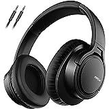 Mpow H7 Cuffie Bluetooth, Cuffie Over Ear Comode, Cuffie Bluetooth Wireless con Microfono CVC 6.0, Cuffie Audio Hi-Fi Padiglione Super Morbido per Corso Online, TV, Cellullari, PC