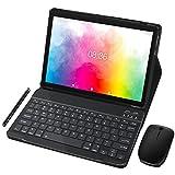 Tablet PC 10 Pollici MEBERRY Ultimo Android 10.0: Tablet Portatile con 4 GB di RAM+ 64 GB di ROM con Processore Quad- Core- Dual SIM| 8000mAh| WIFI| GPS| Doppia Fotocamera, Corpo in Metallo Grigio