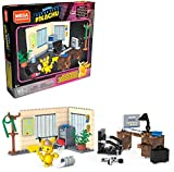 Mega Construx GGK26-Detective Pikachu's Office, Detective Pikachu Movie Line, Multicolore, GGK26, 183 pezzi