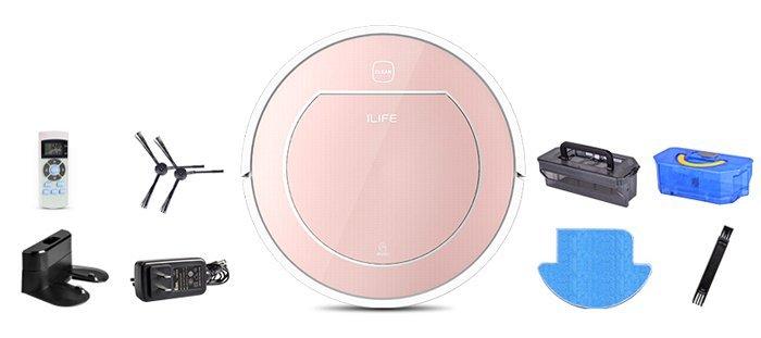 confezione Recensione ILife V7S - Robot Aspirapolvere