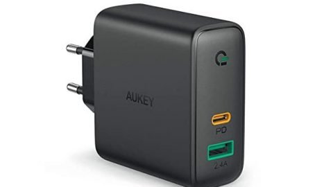 AUKEY USB C Caricatore da Muro 60W Power Delivery